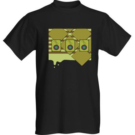 shirt Gold Drip