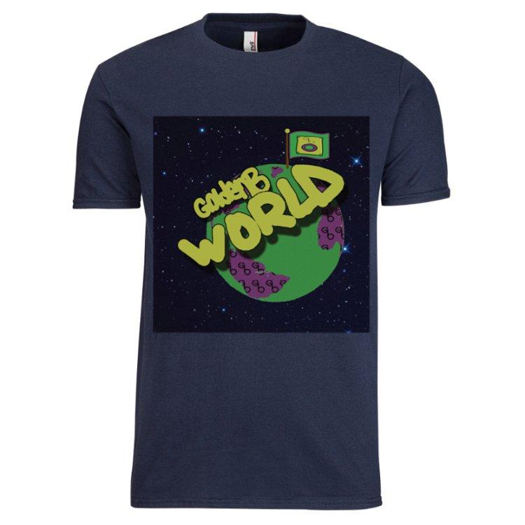 shirt goldenB world