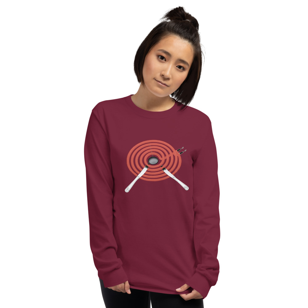 hot-knife_mockup_Front_Womens_Maroon